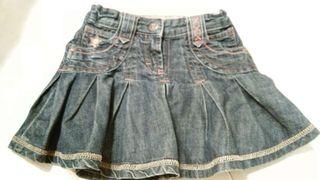 Minifalda vaquera 6 años