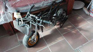Chasis de mini moto motor senda