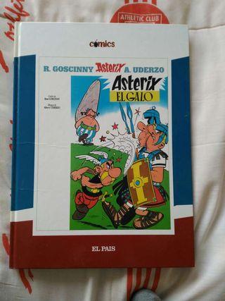 Comic de Axterix y Obelix