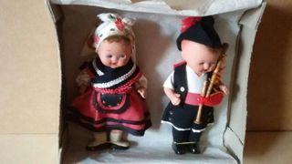 Muñecos terracota años 50
