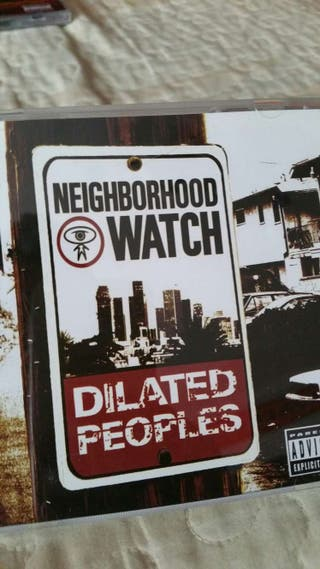 Cd rap americano dilated peoples neighborhood watch