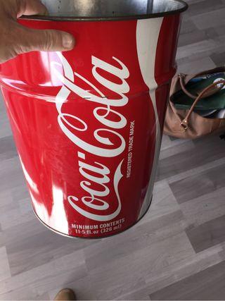 Papelera Gigante coca cola cocacola