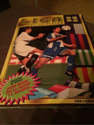 Album De Cromos Liga 95-96Este