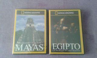 2 x DVD National Geographic nuevos
