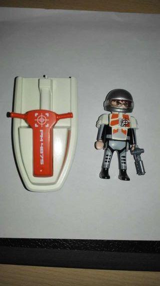 Moto acuatica espia de playmobil
