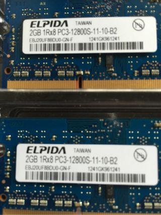 Memoria Ram Mac Mini Original