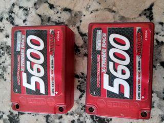 Baterias Lipo Sanddle 7,4V Nosram LRP