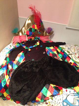 Disfraz Arlequin De Niña