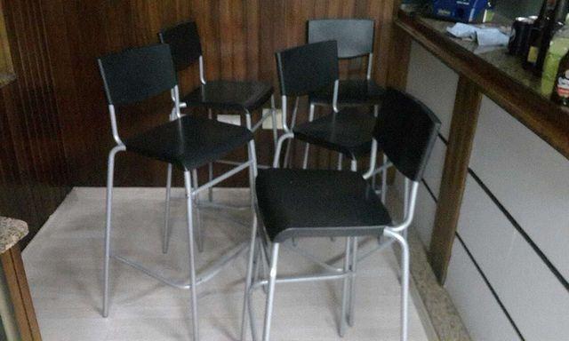 10 sillas de barra altas