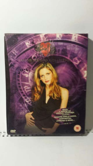 Dvd Box Buffy Caza vampiros Season Six.