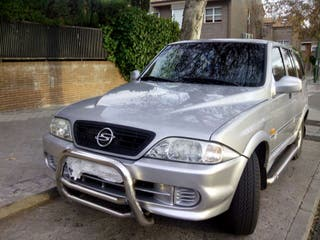 VENDO COCHE SSANGYONG MUSSO 2900 turbo diesel