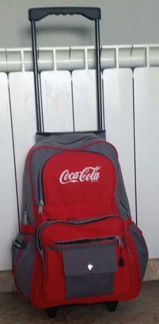 Mochila trolley de Coca-cola.