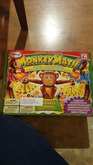 Juego 4+ monkey match