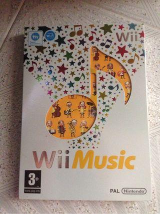 Videojuego Wii Music