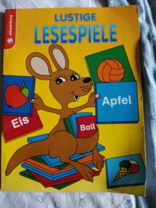 Lesespiele practicar aleman