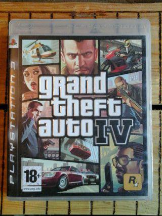 Grand Theft Auto 4 para Ps3