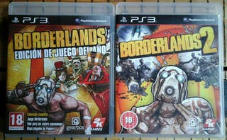 Borderlands 1 y 2 para Ps3