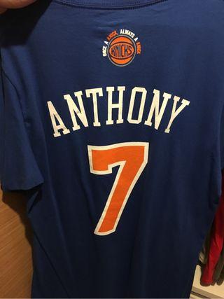 Camiseta Adidas Knicks Oficial New York Knicks