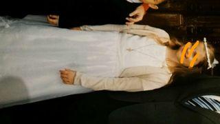 Vestido de comunión Talla-12 El Corte Inglés