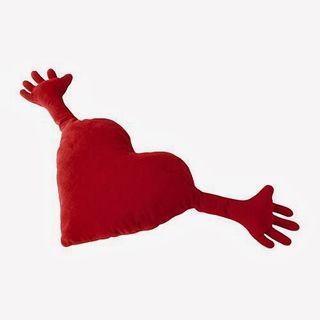 Cojin Corazón Ikea