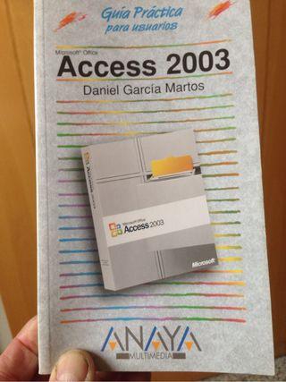 Libro access 2003