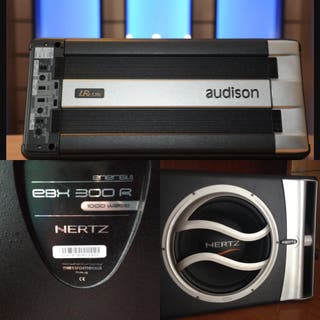 Equipo Car Audio Audison yHertz