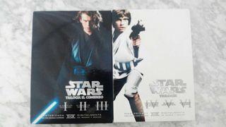 Star Wars en DVD
