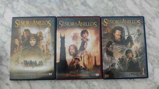 El señor de los anillos en DVD
