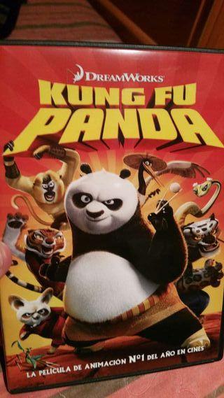 Pelicula dvd kung fu panda dreamworks