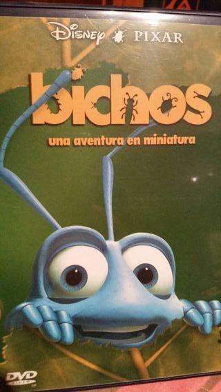 Pelicula dvd bichos pixar