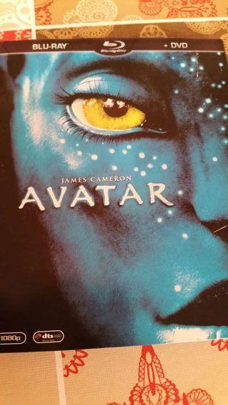 Pelicula blue ray + dvd avatar james cameron