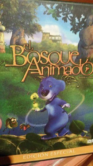 Pelicula dvd el bosque animado edición especial