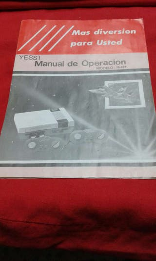 Manual de Nintendo--nes