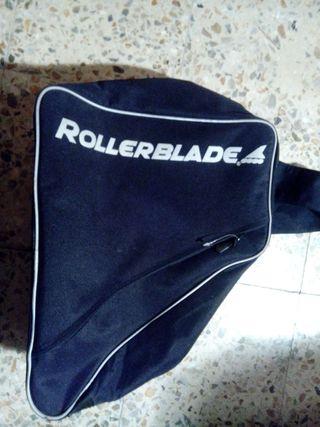 Mochila para patines o botas de ski