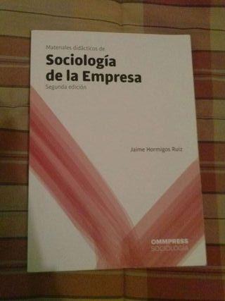 Libro Sociologia de la Empresa