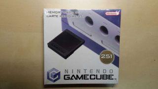 Targeta de memoria Gamecube NUEVA