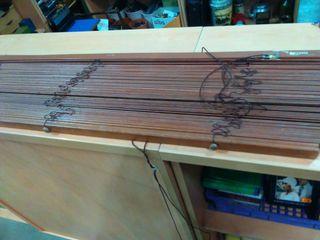Estores de madera de segunda mano por 12 en ll ria en wallapop - Estores de madera ...