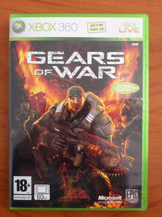 Gears of war completo impecable (juego xbox 360)