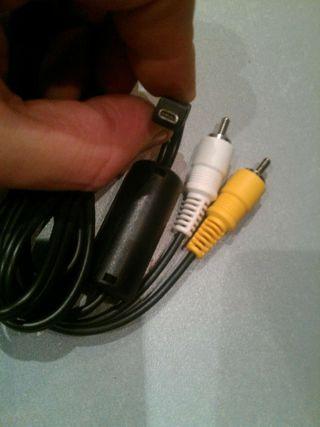 Cables para conectar camaras de video fotos a tv.