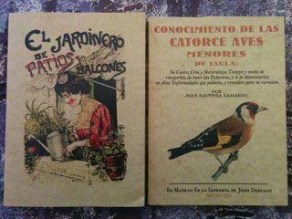 Libros de naturaleza y plantación