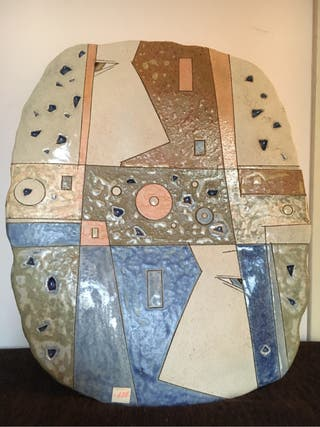 Plato Decorativo De Ceramica