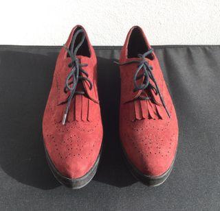 Zapatos Plataforma Goma