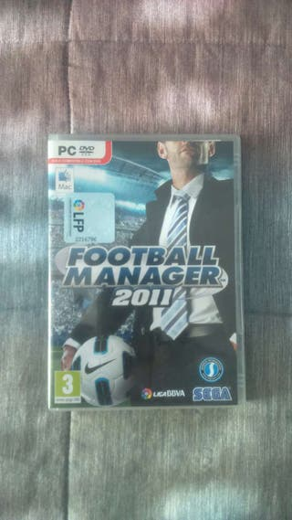 Juego pc football manager 2011