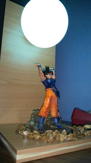Lampara dragon ball hecha ha mano