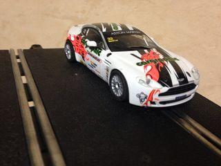 Aston Martin Scalextric