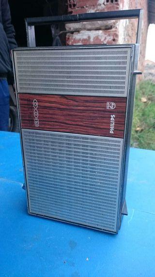 Radio de vinilo Philips antigua