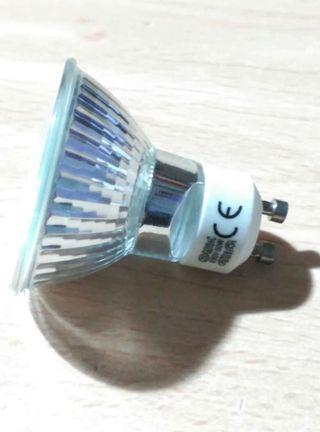 4 bombillas GU10 50W sin estrenar