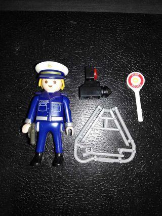 Policia con radar special