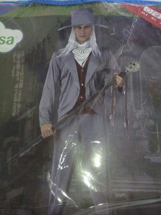 Disfraz de novio gótico