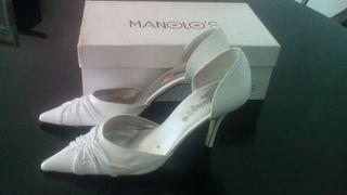 Zapatos piel novia n°37